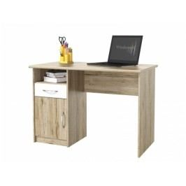 ORFA MIX MICRO psací stůl M28, dub san remo/bílá