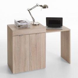 Idea Psací stůl STRETCH 2, dub sonoma
