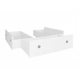 Zásuvky k posteli NEPO 140x200 cm - 3 ks, bílá