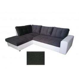 Rohová sedačka ORLANDO, levá, bílá