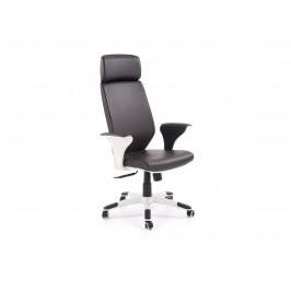 Kancelářská židle LONATTI, černo-bílá
