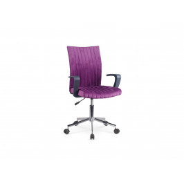 Dětská židle DORAL, fialová