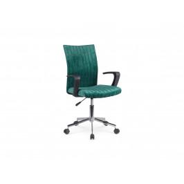 Dětská židle DORAL, tmavě zelená