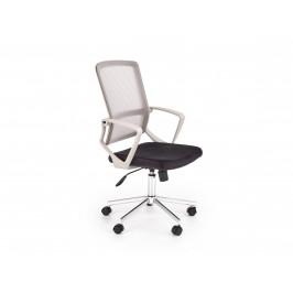 Kancelářská židle FLICKER, světle šedá/černá