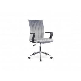 Dětská židle DORAL, tmavě šedá