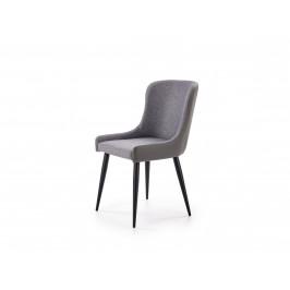 Jídelní židle K-333, světle šedá