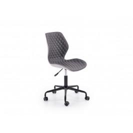 Dětská kancelářská židle UBER, tmavě šedá