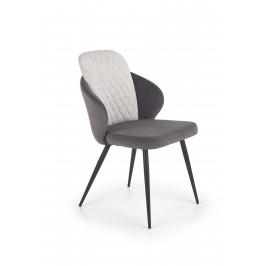 Jídelní židle K-408, šedá