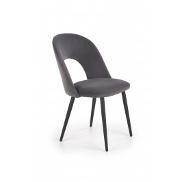 Jídelní židle K-384, šedá