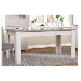 MARQIS rozkládací jídelní stůl , borovice andersen/dub prata