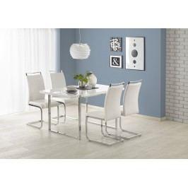 Jídelní stůl LION 140X80 cm, bílý