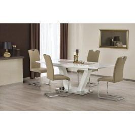 Jídelní stůl rozkládací VISION, 160/200x90 cm, bílý