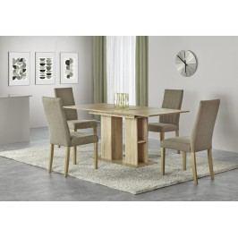 Jídelní stůl rozkládací KORNEL, 130/170x80 cm, dub sonoma