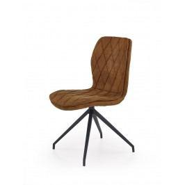 Jídelní židle K237, hnědá