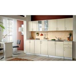 Smartshop Kuchyně JOLANA II 260 cm, vanilka