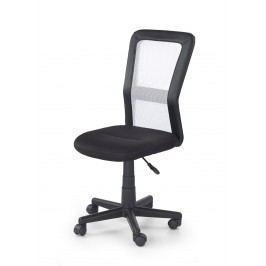 Dětská židle COSMO, černá/bílá