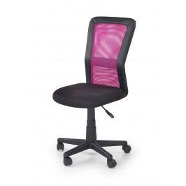 Dětská židle COSMO, černá/růžová