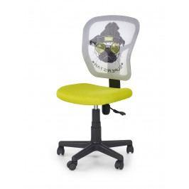 Halmar Dětská židle JUMP, zelená