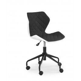 Dětská židle MATRIX, bílá/černá
