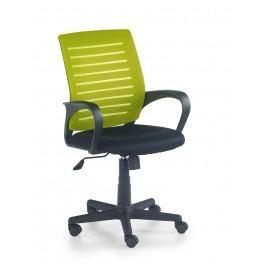Smartshop Kancelářská židle SANTANA, černá/zelená