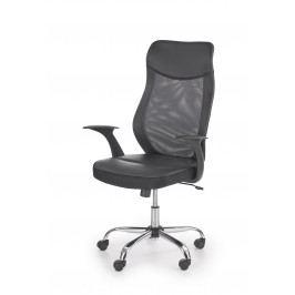 Smartshop Kancelářská židle VETRO, černá/šedá