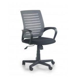 Kancelářská židle SANTANA, černá/šedá