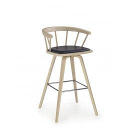 Smartshop Barová židle H78, buk/černá