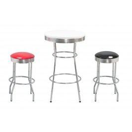 Barový stolek SB12, bílý