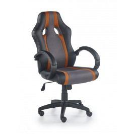 Halmar Kancelářské křeslo RADIX, šedá/oranžová