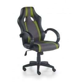 Kancelářské křeslo RADIX fotel, šedá/zelená