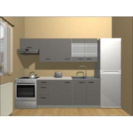Smartshop Kuchyně TABES 180/240 cm, lava mat