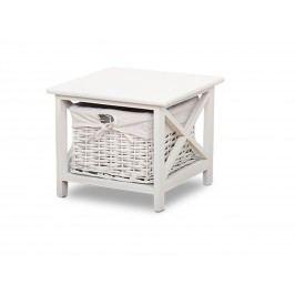 Smartshop Noční stolek RAFAELLO, bílý
