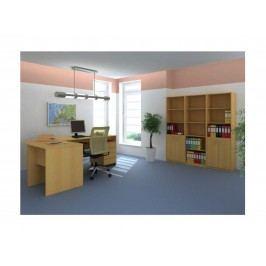 Smartshop TEMPO AS, kancelářská sestava 1, buk