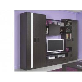 Smartshop Obývací stěna ORLANDO 280 cm, wenge