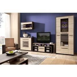 Smartshop KOLDER obývací pokoj, dub canterbury/dub sonoma
