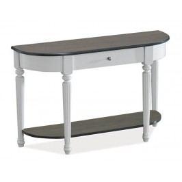 Smartshop Toaletní stolek VALENCIA D, bílá/šedá