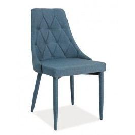 Jídelní čalouněná židle TRIX, denim