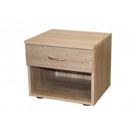 Noční stolek 50140, dub sonoma