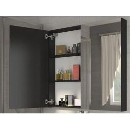 MORAVIA FLAT Koupelnová skříňka DELLA 60 cm, černá