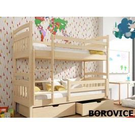 Patrová postel GABI 80x180 cm, masiv borovice/barva:..