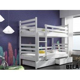 Patrová postel NEMO 80x180 cm, masiv borovice/barva:..