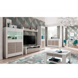 Smartshop ALVO obývací pokoj, andersen white pine/andersen beige