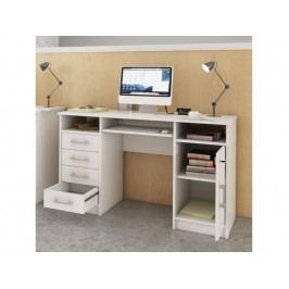 Smartshop B9 PC stůl, bílá