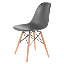 Jídelní židle MODENA, tmavě šedá