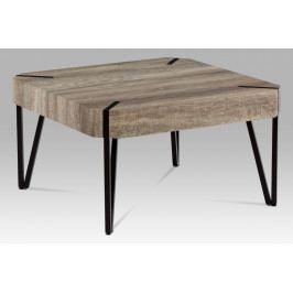 Smartshop Konferenční stolek KSAHG-242 CAN, dub canyon/černá matná