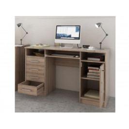 Smartshop B9 PC stůl, dub sonoma