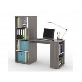 MB Domus NU psací stůl SETTE, avola/bílá