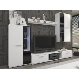 Smartshop  Obývací stěna SALSA, bílá