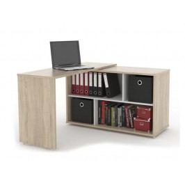 Smartshop ASTON rozkládací psací stůl, dub sonoma