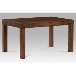 Jídelní stůl AUT-5627 WAL 140x80 cm, barva ořech
